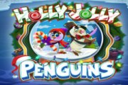 Play Holly Jolly Penguins Slots game Microgaming