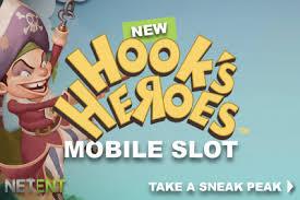 Play Hooks Heroes Slots game NetEnt