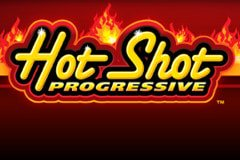 Play Hot Shot Progressive Slots game WMS