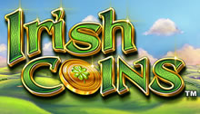 Play Irish Coins Slots game Novomatic