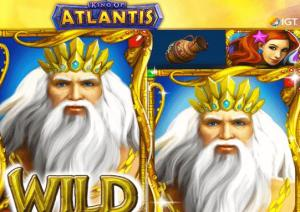 King of Atlantis Slots game IGT