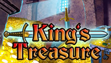 Kings Treasure Slots game Novomatic
