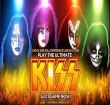 Play KISS Slots game WMS