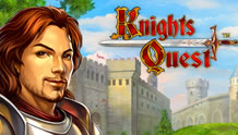 Play Knights Quest Slots game Novomatic