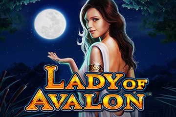 Play Lady of Avalon slot game Barcrest