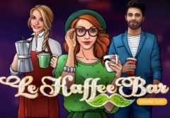 Play Le Kaffee Bar slot game Microgaming