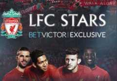 Play Liverpool FC Stars slot game Realistic Gaming