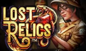 Play Lost Relics slot game NetEnt