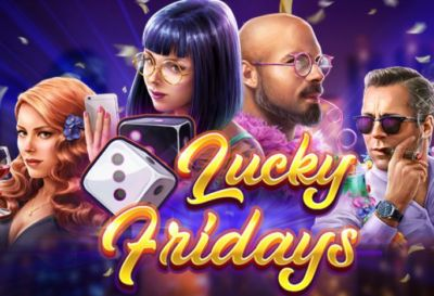 Lucky Fridays Slots game Red Tiger