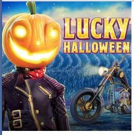 Lucky Halloween Slots game Red Tiger