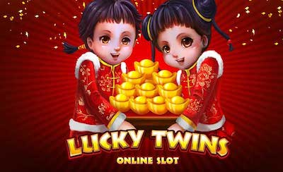 Play Lucky Twins 2 Slots game Microgaming