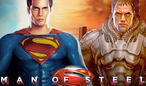 Play Man of Steel Slots game Playtech