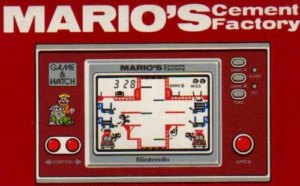 Marios Cement Factory Arcade game Arcade