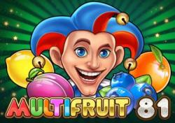 Multifruit 81 Slots game Play n Go
