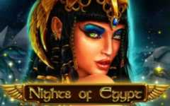 Play Nights of Egypt Slots game Spinomenal