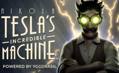 Nikola Tesla Incredible Machine free Slots game