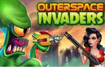 Outerspace Invaders Slots game Leander