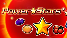 Play Power Stars Slots game Novomatic