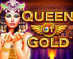 Play Queen of Gold Slots game