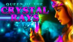 Play Queen Of The Crystal Rays Slots game Crazy Tooth Studios