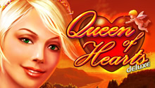 Queen of Hearts deluxe Slots game Novomatic