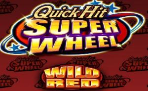 Quick Hit Super Wheel Wild Red free Slots game
