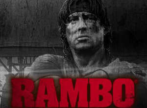 Play Rambo Slots game iSoftBet