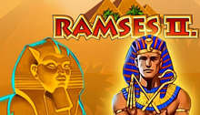 Play Ramses II Slots game Novomatic