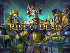 Play Rise of Dead Slots game Play n Go