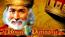 Royal Dynasty Slots game Novomatic