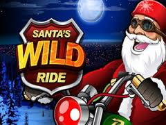 Play Santas Wild Ride Slots game Microgaming