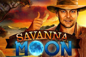 Play Savanna Moon Slots game Gamomat