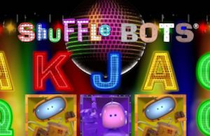 Play Shuffle Bots Slots game Realistic