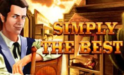 Play Simply the Best Slots game Gamomat