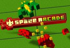 Play Space Arcade Slots game Green Valley