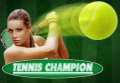 Play Tennis Champion Slots game Spinomenal