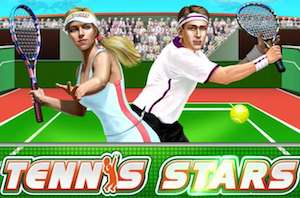 Play Tennis Stars Slots game Playtech