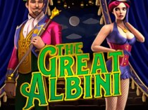 Play The Great Albini slot game Microgaming