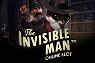 Play Invisible Man Slots game NetEnt