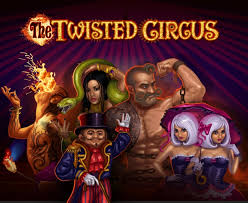 The Twisted Circus Slots game Microgaming