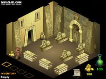 The Pharohs Tomb Arcade game The Pharoh