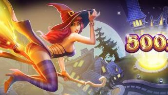 Play Trick o Treat Slots game Cayetano Gaming