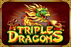 Triple Dragons Slots game PragmaticPlay