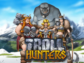 Play Troll Hunters Slots game Casumo