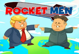 Rocket Men Slots game Red Tiger