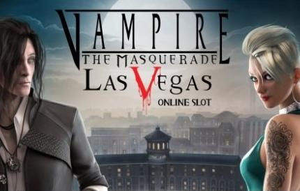 Vampire The Masquerade Las Vegas slot game