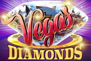 Vegas Diamonds Slots game ELK Studios