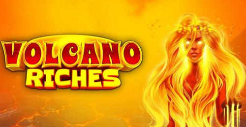 Play Volcano Riches Slots game Microgaming