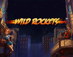 Wild Rockets Slots game Casumo