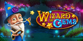 Play Wizard of Gems Slots game Casumo